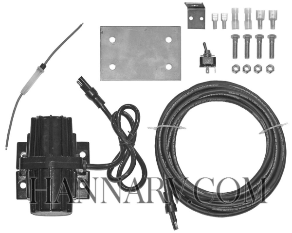 Buyers 3008046 Universal Salt Spreader Vibrator Kit (200 lbs of Force) - Replaces SnowEx D6174