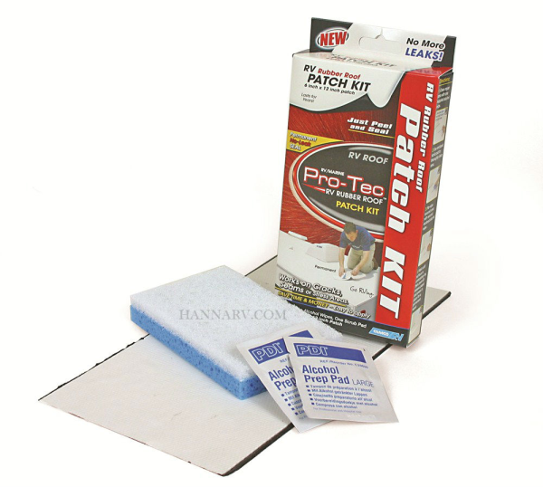 CAMCO 41461 Pro-Tec RV Rubber Roof Patch Kit