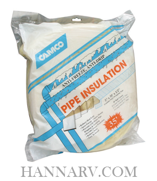 Camco 12660 Fiberglass Pipe Insulation