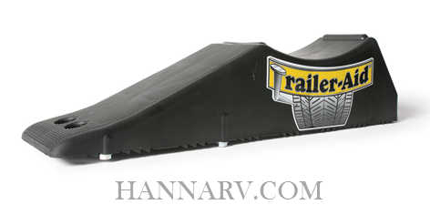 Camco 22 Trailer-Aid Tandem Tire Changing Ramp - Black