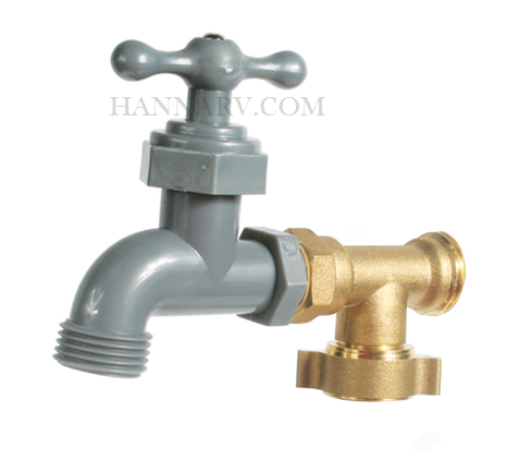 Camco 22463 90 Degree Water Faucet With Easy Gripper
