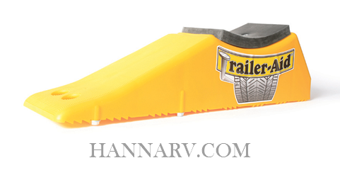 Camco 117-23 Trailer-Aid Plus Tandem Tire Changing Ramp - Yellow