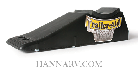 Camco 24 Trailer-Aid Plus Tandem Tire Changing Ramp - Black