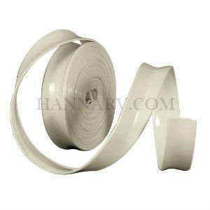 Camco 25222 Vinyl Trim Insert Off White 1 Inch x 100 Foot Roll