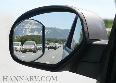 Camco 25603 Convex Blind Spot Mirror - 4 x 5.5