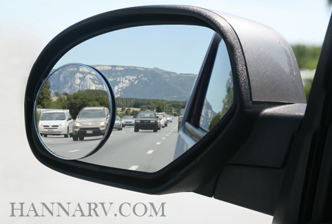 Camco 25613 Convex Blind Spot Mirror - 3.75