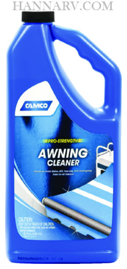 Camco 41024 Pro Strength RV Awning Cleaner And Protector 32-oz. Bottle