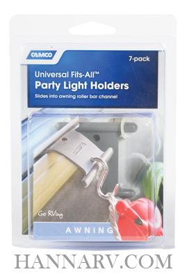 Camco 42693 Fits All Rv Party Light Holders 7 Clips Rv Trailer Camper Light Holder Mfg 42693 18440 Hanna Trailer Supply