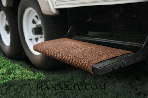Camco 42921 Brown RV Wrap Around Step Rug