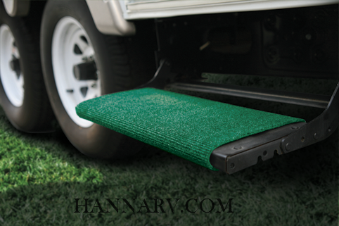 Camco 42923 Green RV Wrap Around Step Rug