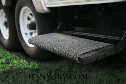 Camco 42925 Gray RV Wrap Around Step Rug