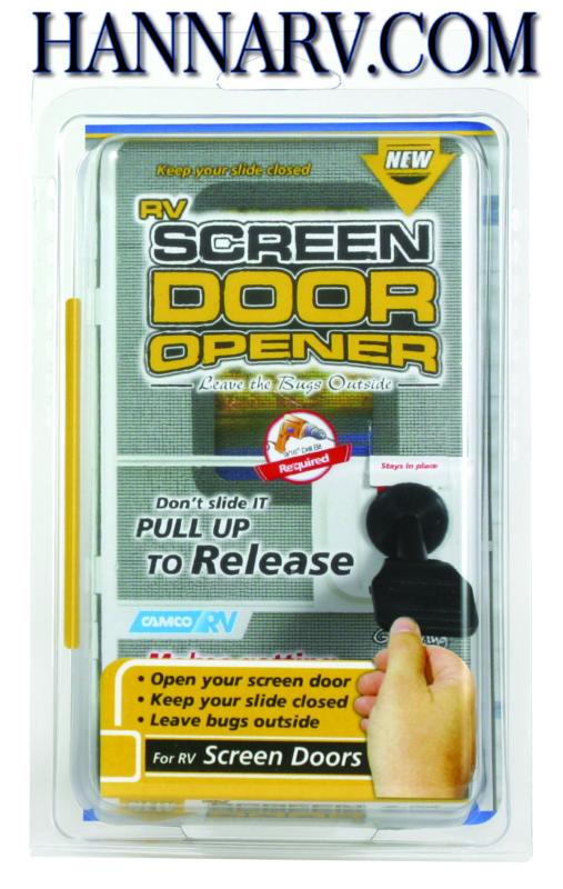 Camco 43953 Rv Trailer Camper Screen Door Opener Mfg