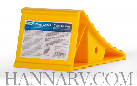 Camco 44412 Yellow Plastic Wheel Chock