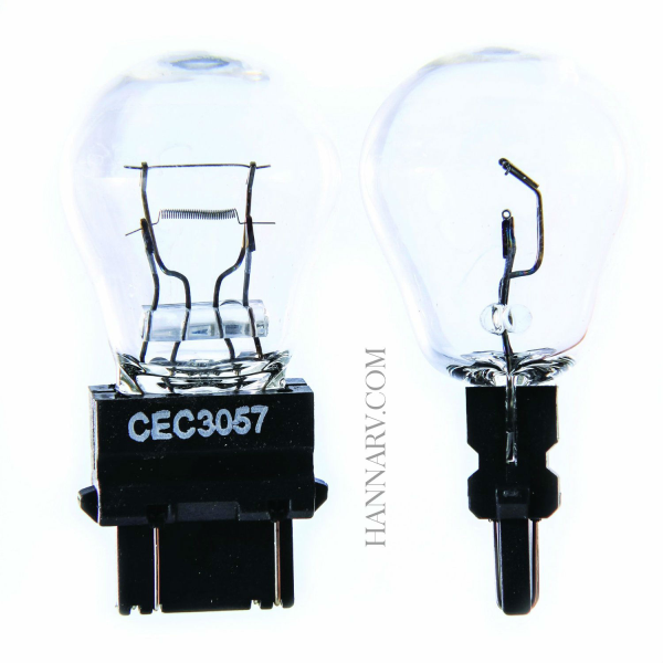 Camco 54847 Auto Park/Tail/Signal 3057 Bulb - Pack of 2