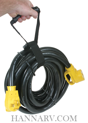 Camco 55197 Powergrip Heavy Duty 30-Amp RV Extension Cord - 50-Foot