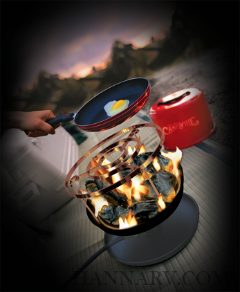 Camco 58033 Little Red Campfire Cook Top Hanna Trailer Supply