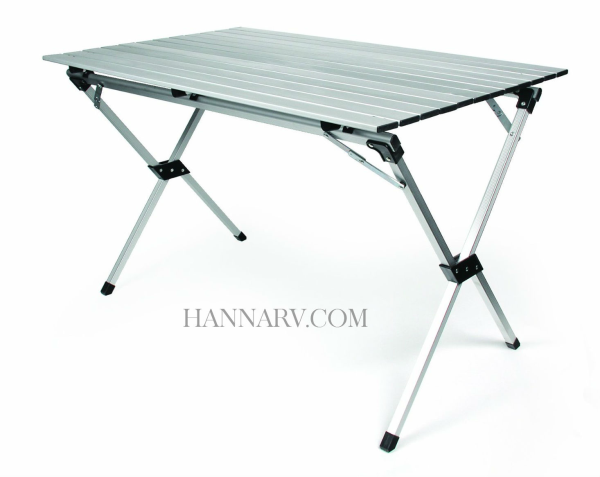 Ordinaire Camco Mfg 51892 Aluminum Roll Up Table With Bag ...