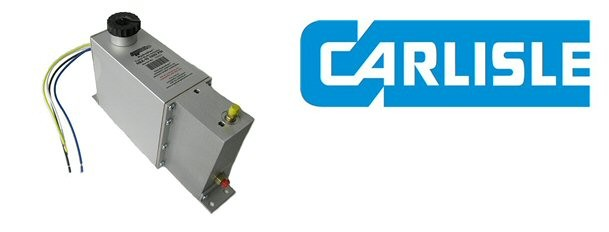 Carlisle CAR-HBA16-2 Hydrastar Electric/Hydraulic Brake Actuator with  Deluxe Line Kit and Breakaway for 1600 PSI Disc