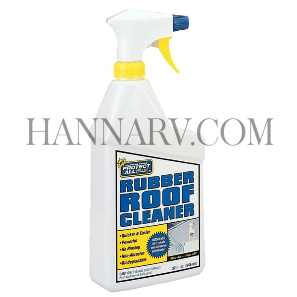 Champions Choice 67032 Protect All Rubber Roof Cleaner 32-oz. Spray Bottle