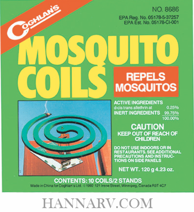 Coghlans 8686 Mosquito Coils
