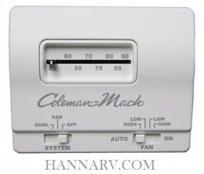 Coleman 7330F3361 Analog Wall Thermostat