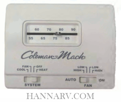 Coleman 7330G3351 Analog Wall Thermostat