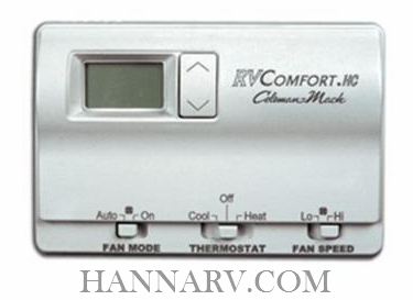 Coleman 8330-3362 Digital Wall Thermostat