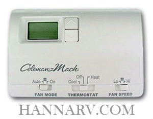 Coleman-Mach 6636-3441 Digital Wall Thermostat