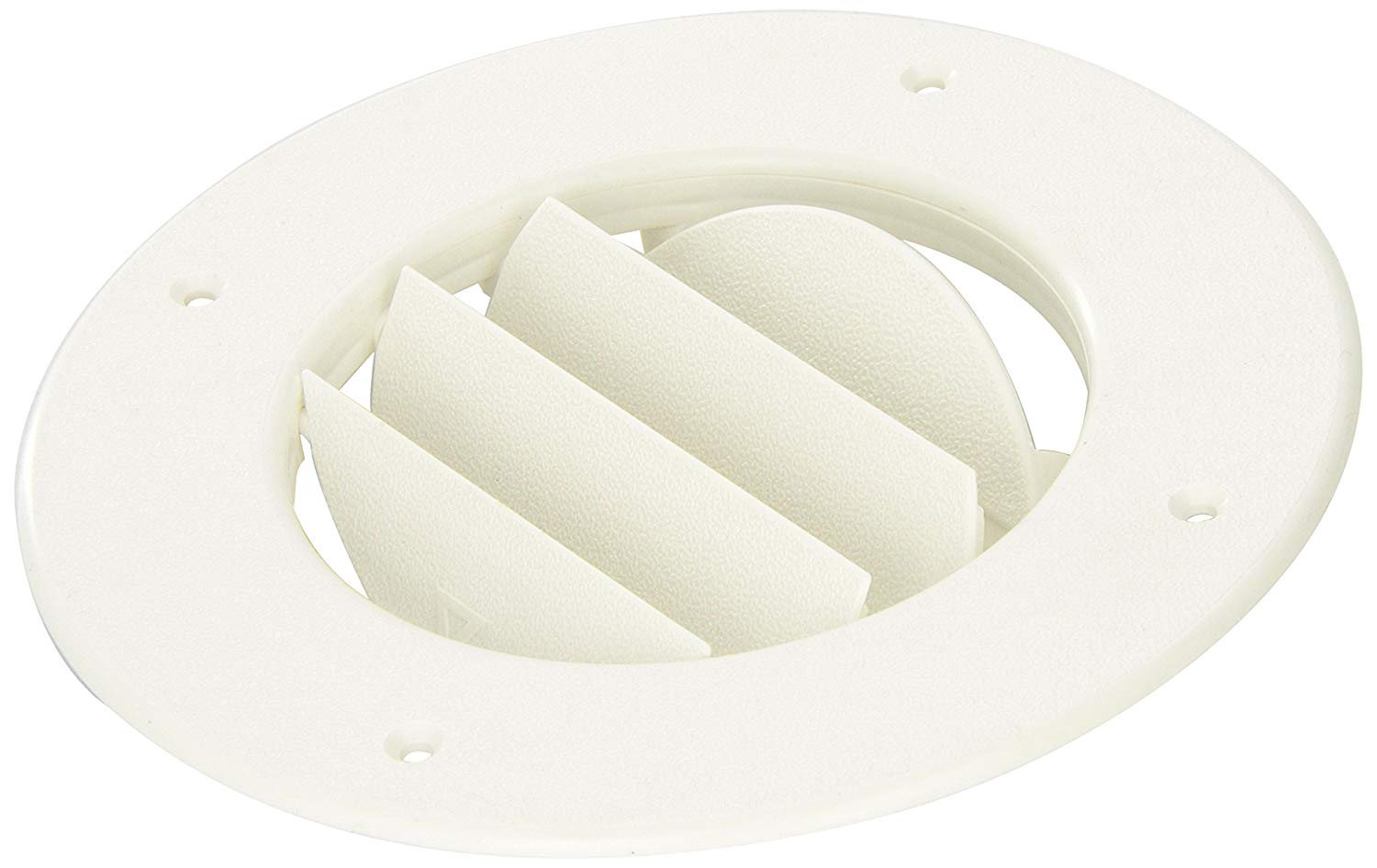 D And W Inc 8840WH Louvered Air Conditioning Ceiling Vent