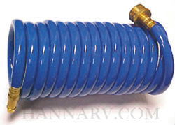 D And W Inc. SA-HOSE-15-ASY 15 Foot Coil Hose Assembly With Brass Insert