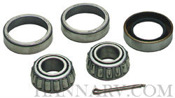Dutton Lainson 21799 Wheel Bearing Set For 1-inch Axle, L44643 Cone, L44610 Cup