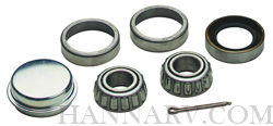 Dutton Lainson 21812 Wheel Bearing Set For 1 1/4 To 3/4-inch Axle, LM67048 To LM11949 Cone, LM67010