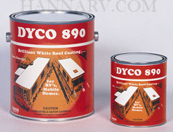 Dyco 890QT RV and Mobile Home Roof Coating