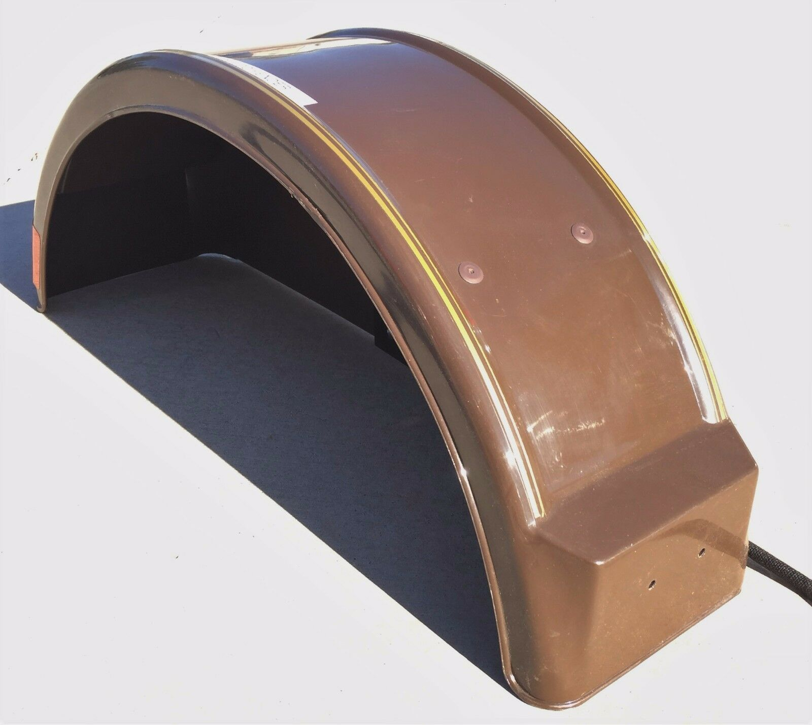 Demco 05336 Brown Left Hand Fender with Round Tail Light
