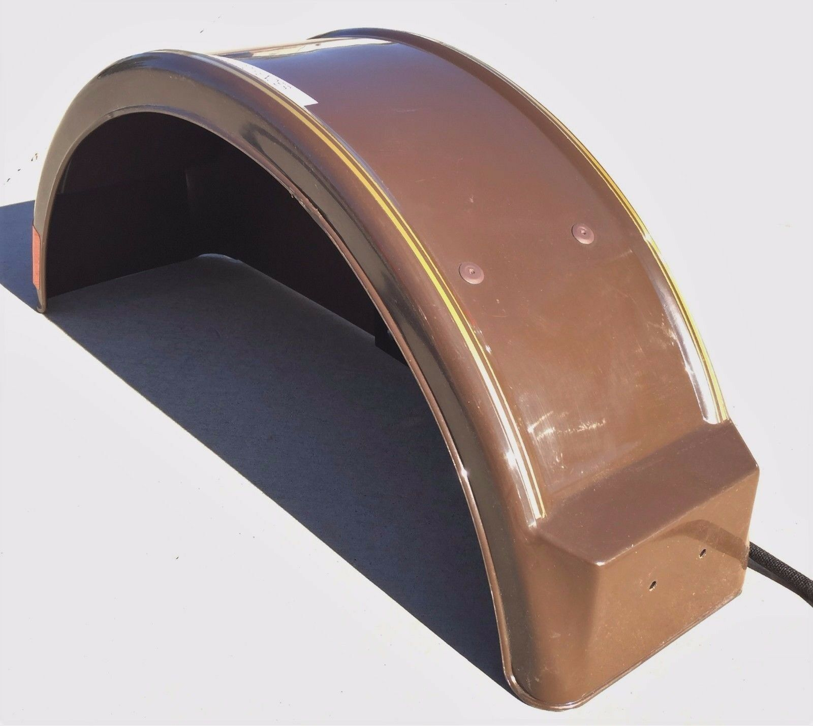 Demco 05355 Brown Right Hand Fender with Round Tail Light