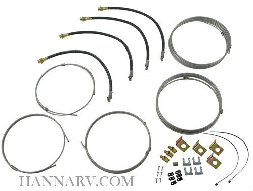 Dexter 9579-01 Hydraulic Line Kit for 3rd Axle Deluxe Drum and 3.5-8K Disc Brakes