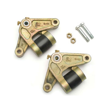 Dexter K71-655-00 E-Z Flex Tandem Equalizer Kit - 2 Each - 7-3/4 Inch Equalizer - Bolts - Nuts - Sha