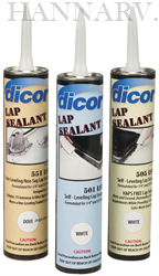 Dicor Products 501lsv Lap Sealant Ivory Roof Sealants