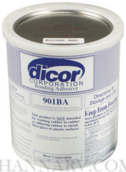 Dicor Products 901BA-1 Water Based Acrylic Adhesive - 1 Gallon Container
