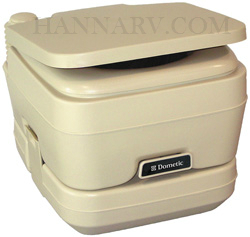 Dometic 301096202 SeaLand Sani-Pottie 962 Portable Toilet 2.8 Gallon Parchment Color