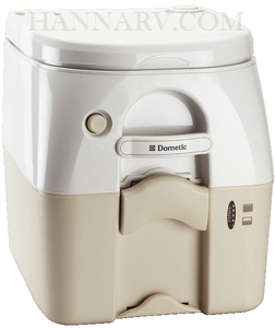 Dometic 301097502 SeaLand 975 5.0 Gallon Portable Toilet - Tan