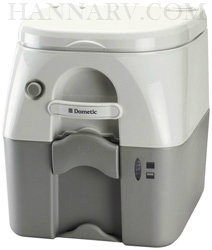Dometic 301097506 SeaLand 975 5.0 Gallon Portable Toilet - Gray