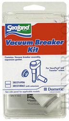 Dometic 385316906 SeaLand Traveler RV Toilet Vacuum Breaker Kit For Models 510 And 911