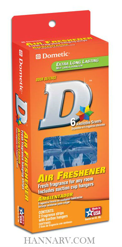 Dometic D1309005 Hawaiian Blossom Air Freshener - 2 Pack