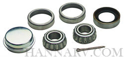Dutton Lainson 21810 Wheel Bearing Set For 1 1/16 To 3/4-inch Axle, L44649 To LM11949 Cone, L44610 T