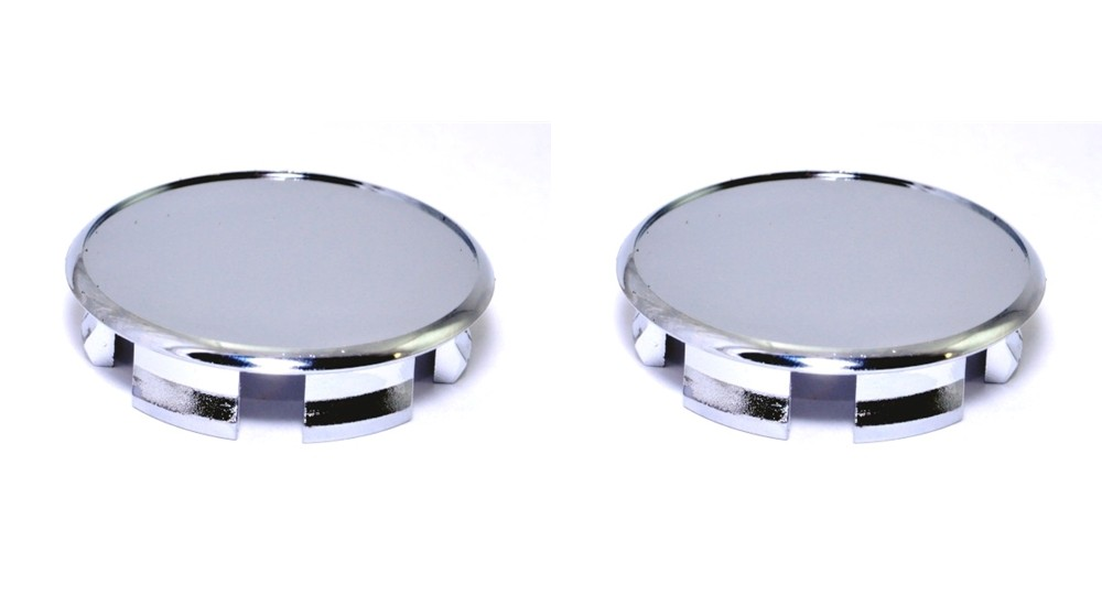 Excalibur CCP-60C Chrome ABS Center Cap Plug Only - 2 Pack