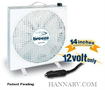 FanTastic Vent 01100WH Endless Breeze 12 Volt Fan