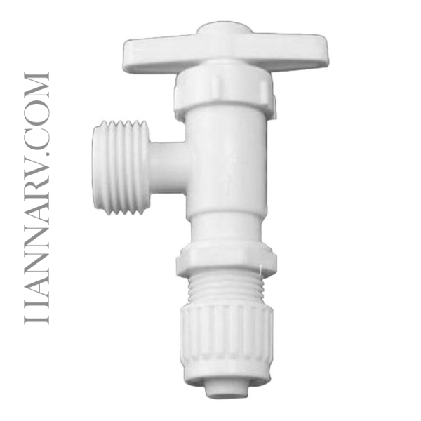 Flair It 06887 FLAIR-IT FLARED CONE and NUT FITTING 1/2 x 3/4 MPT Washing Machine Valve