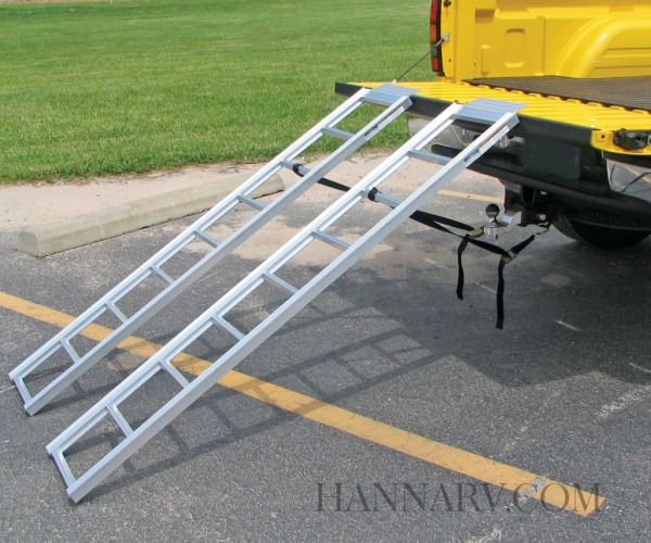 Fulton 550301 Pair of Straight Ramps - 69 Inch x 13 Inch - 1250 Lbs Weight Rating
