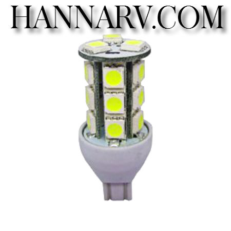 Green LongLife 5050132 921 Wedge Base Tower RV LED Light Bulb - Natural White - 3.24 Watts - 8-30 Vo